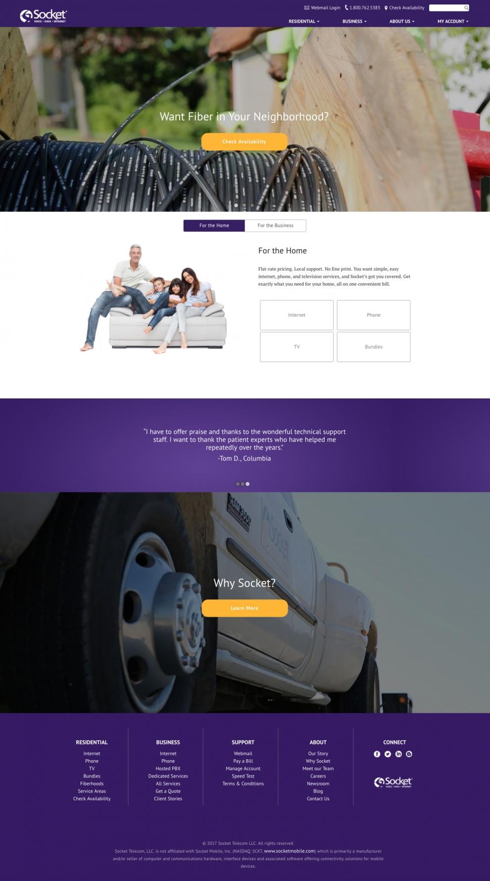 Socket.net site